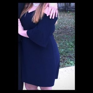 Dress Barn Cold Shoulder Dress